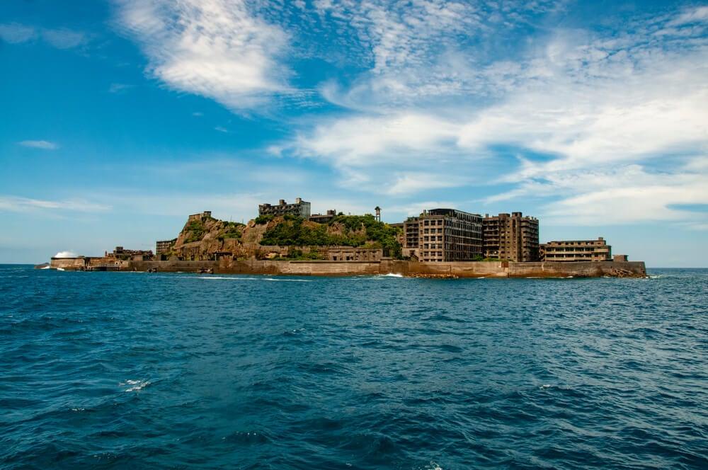 Hashima la isla fantasma de Japón