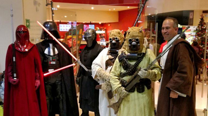 Legion Rebelde en la premier de Star Wars